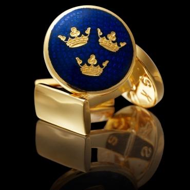 blå guld 3 kronor