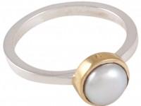 Annica Vallin, Lavendel ring vit sötvattenpärla