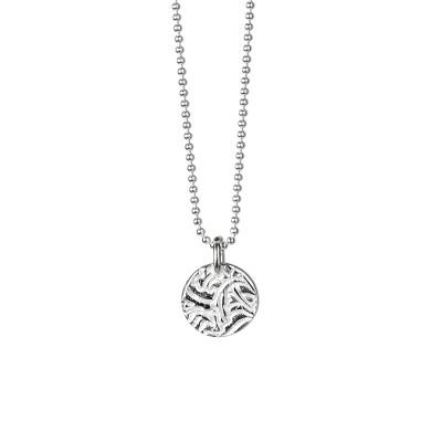 MINI SHIELD SILVER HALSBAND  649 kr Mini Shield Silver – Halsband med hänge i sterlingsilver. Kullänk 1,2 mm i sterlingsilver. Längd 42 cm.  Produktbeskrivning Mini Shield Silver – Halsband med hänge i sterlingsilver. Kullänk 1,2 mm i sterlingsilver. Längd 42 cm.