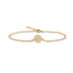 ARMBAND FÖRGYLLT – MINI SHIELD Pris 699 kr Produktbeskrivning Armband förgyllt – Mini Shield armband med berlock i sterlingsilver, förgyllt med 18 karats guld. Justerbar längd max ca 19 cm.