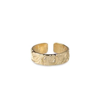 RING FÖRGYLLD – BRAVE & GORGEOUS Produktbeskrivning Ring Förgylld – Brave & Gorgeous i sterlingsilver, förgylld med 18 karats guld. Justerbar storlek med diameter från 16 – 18 mm Pris 849 kr