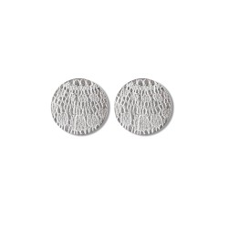 Örhänge silver My Story – Stiftörhänge i sterlingsilver ca 3 cm i diameter.1,295 kr ÖRHÄNGE SILVER – MY STORY