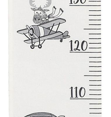 En mätsticka från Bloomingville, med ett fint tryck av roliga flygmaskiner och djur. Mätstickan hängs upp på väggen och hjälper till att hålla koll på längden under de åren man växer som snabbast 239:Bloomingville Mätsticka, Natur